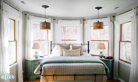 Turret Master Bedroom