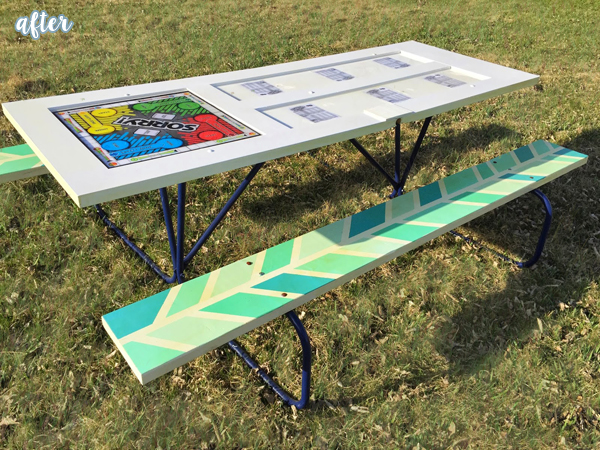 Yahtzee Game Table