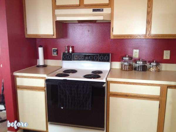 Gray Kitchen Makeover Before