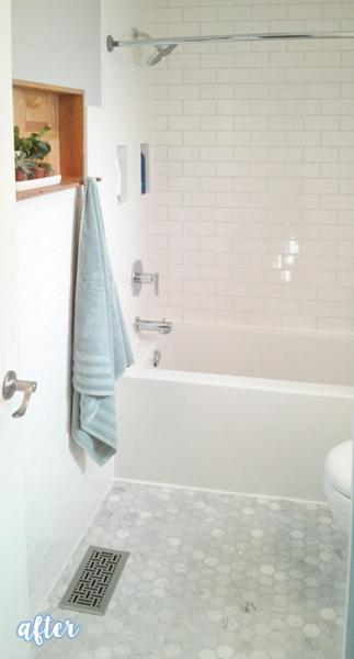 White Tiled Bathroom 1