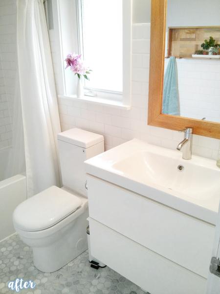 White Tiled Bathroom