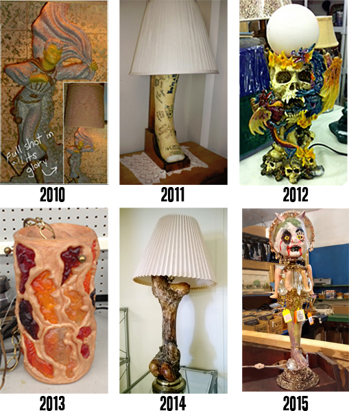 2015 Ugly Lamp Contest WINNER!