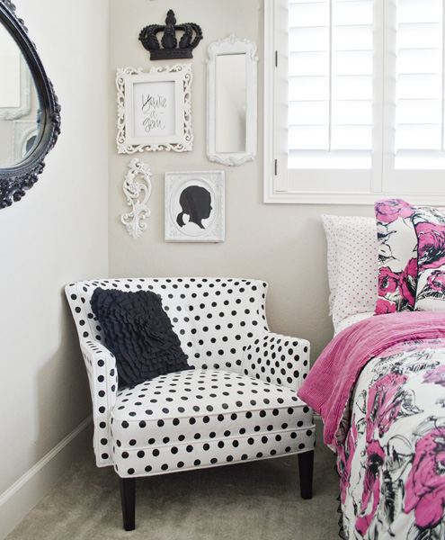 Great How To Paint Polka Dot Upholstery!