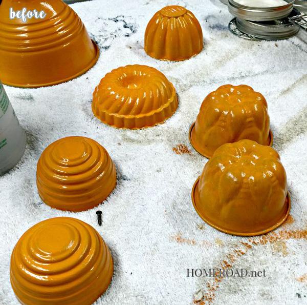Painted Pumpkins Before 1