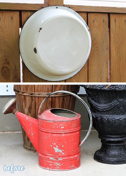Pumpkin Watering Can before