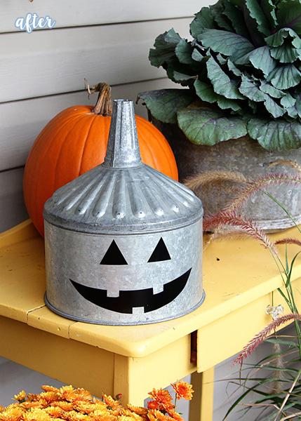 Silver Tin Pumpkin, Bowl, Watering Can