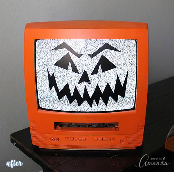 TV Jack O'Lantern