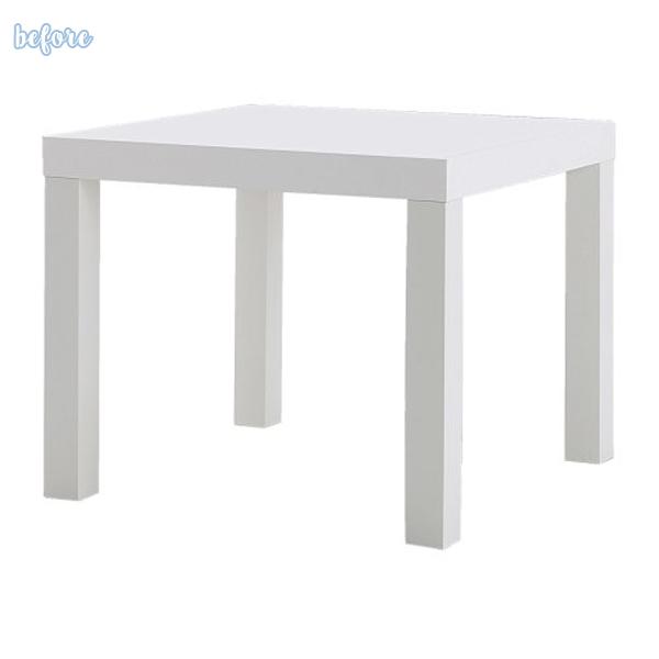 ikea lack table before