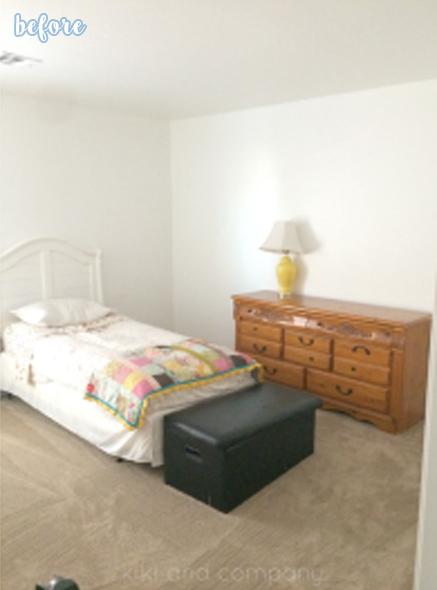 kiki bedroom before