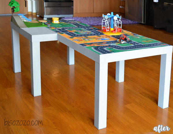 lack play table makeover