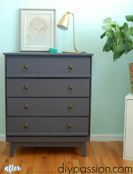 Gray Dresser and Elephant Pulls