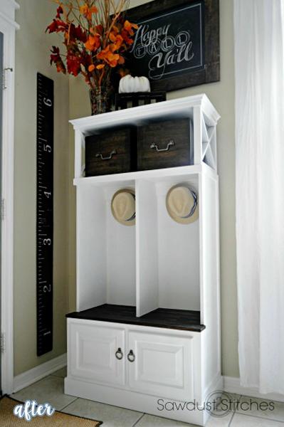 White Storage Locker