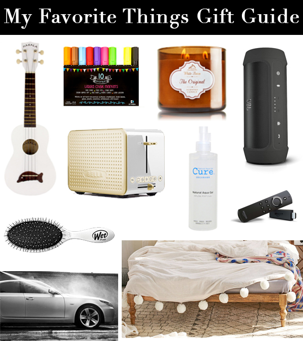 My Favorite Things Gift Guide copy