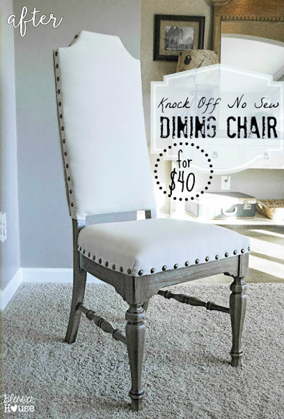 Nailhead Dining Table Chairs 1