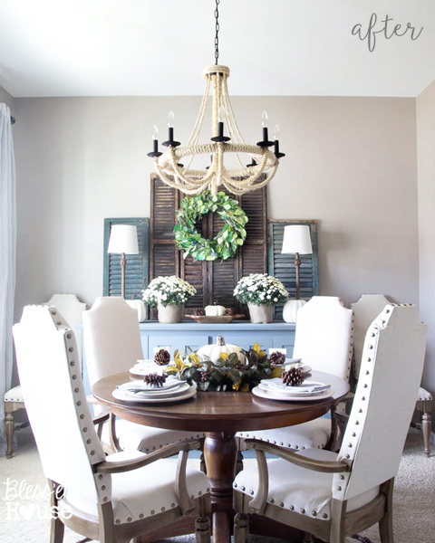 Nailhead Dining Table Chairs