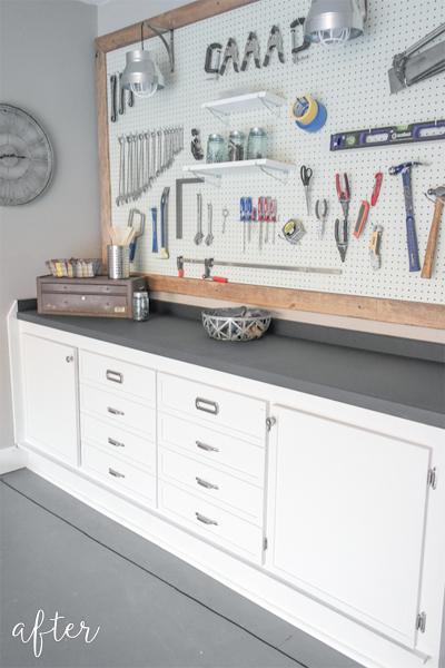 garage makeover - after