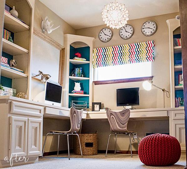 Colorful Homework Loft