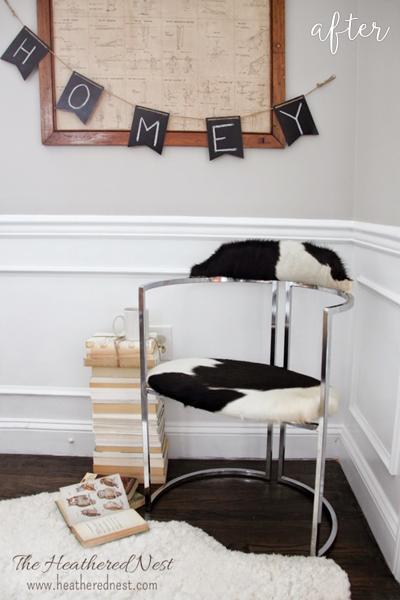 Cow Print Chair