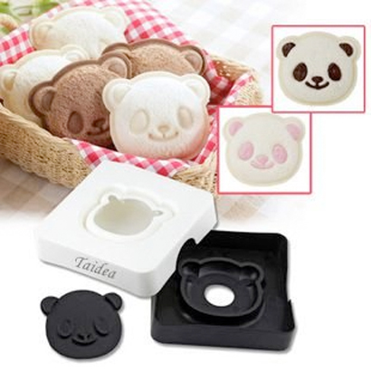 bear sandwich mold