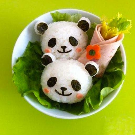 panda rice mold 2