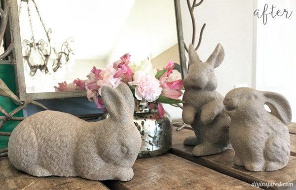 Pebble Painted Bunnies