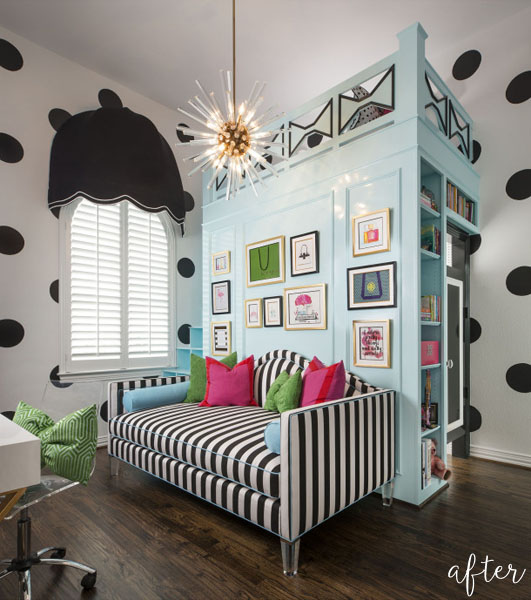 Polka Dot Bedroom U2026