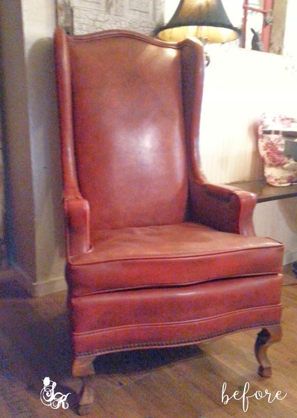 Rome Sailor Chair Before