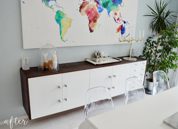 White Cabinet Sideboard
