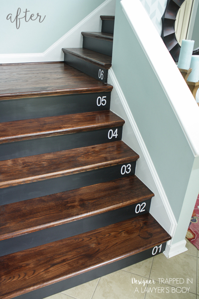 Numbered Staircase