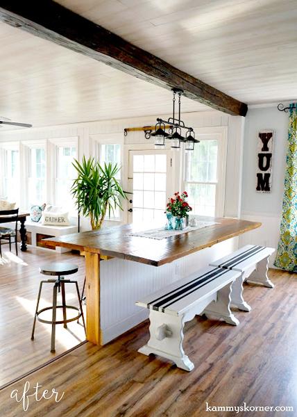 Barn Table: Dining Room 1