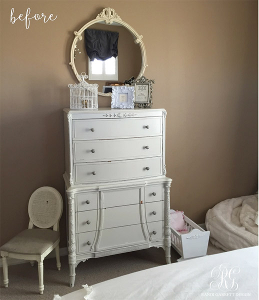 randi garret bedroom dresser before
