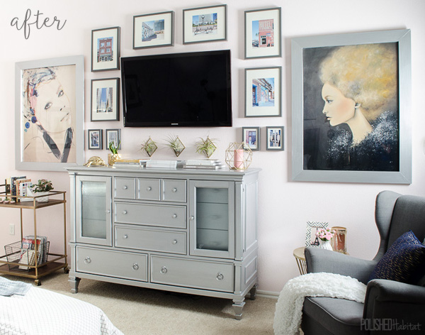 Glam Master Bedroom 1
