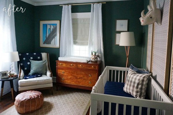 Green Baby Boy Nursery