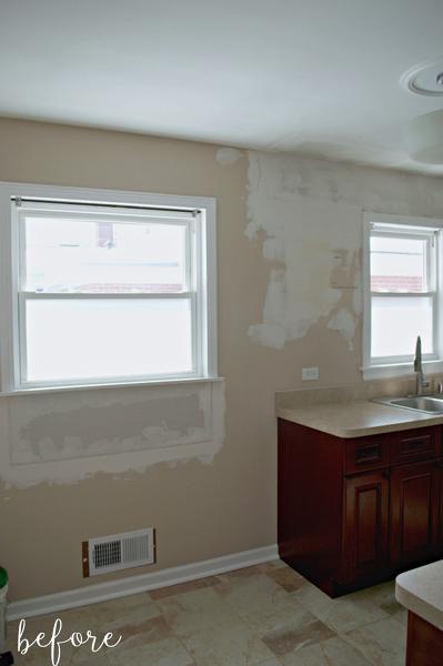 White Kitchen Before 1