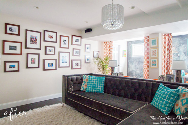 crisp basement makeover after
