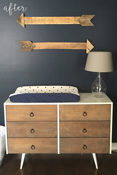 Little Boy Blue Nursery Dresser