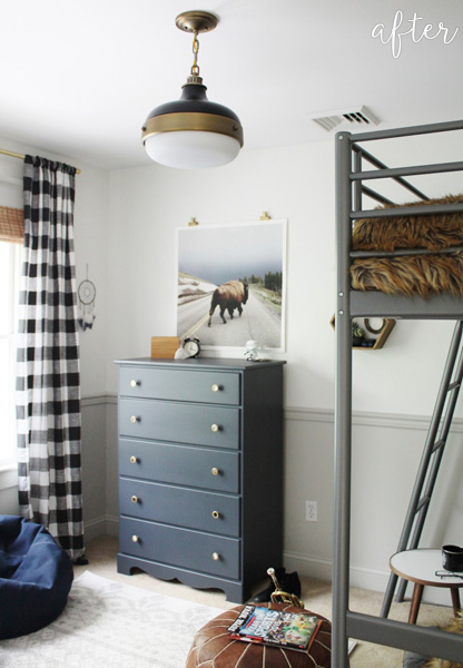 Rustic Tween Bedroom