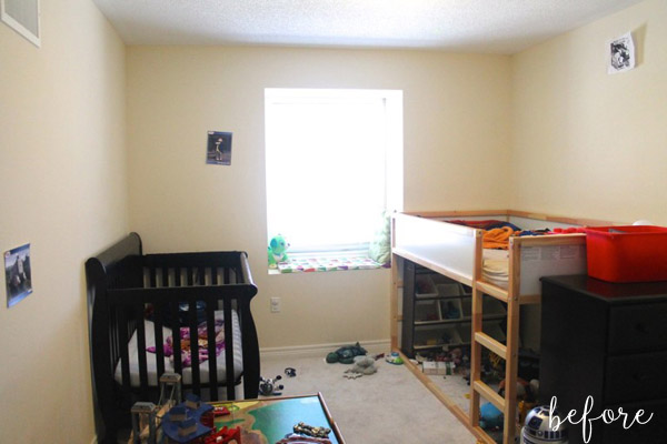 Triangle Boy Room Before