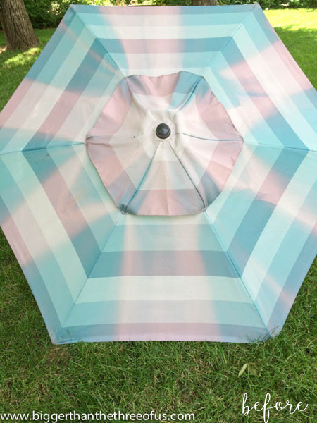 Patio Umbrella Before