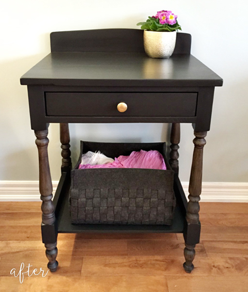 small-black-table