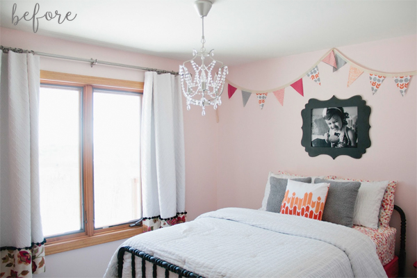 stenciled-ceiling-bedroom-makeover-before