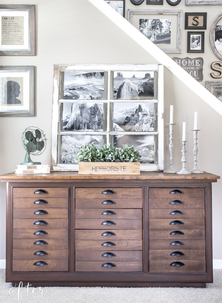 antique-printer-cabinet-makeover