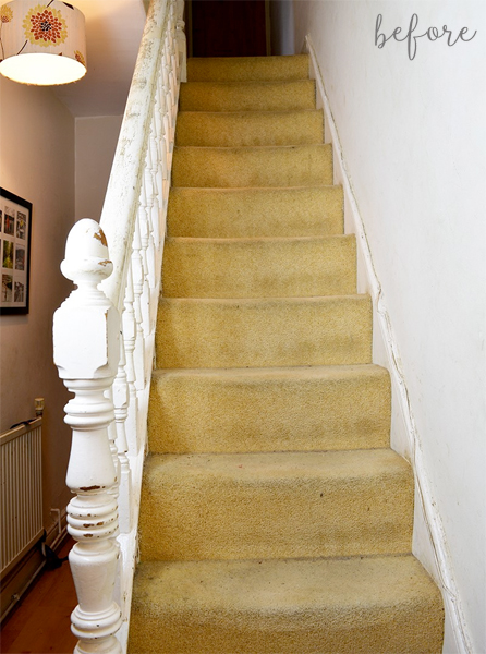 marimekko-staircase-makeover-before