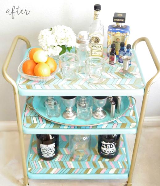 colorful-bar-cart