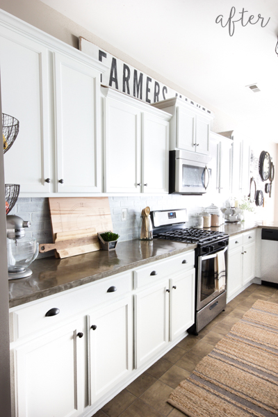 modern farmhouse kitchen makeover. Better After   the best of your before and afters