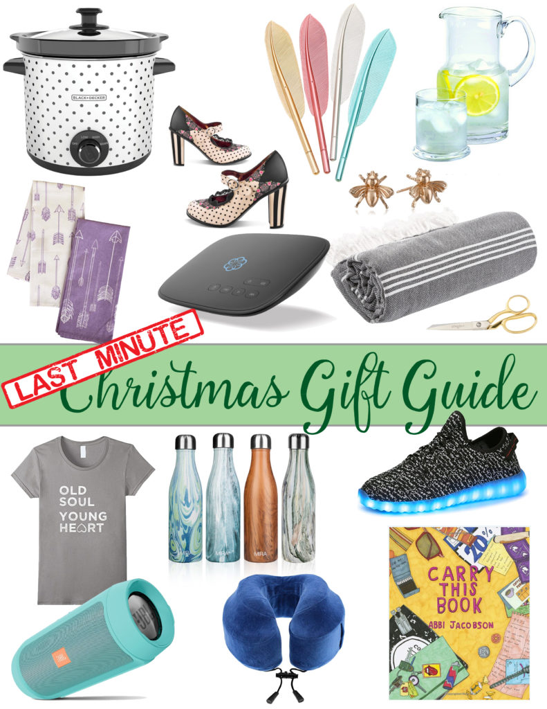 Last-Minute Christmas Gift Guide