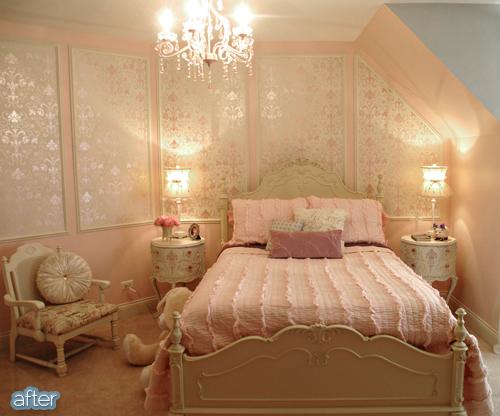 Pink Princess Room After